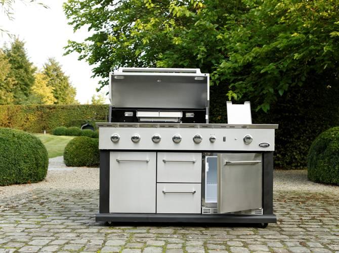 Buitenkeuken Boretti : Boretti Buitenkeukens: Buiten koken met een Italiaans tintje!