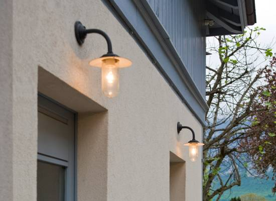 Buitenverlichting buitenlamp tuinverlichting tuinlamp exlusieve buitenverlichting - Buitenverlichting gevelhuis ...