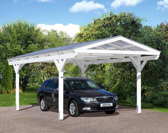 carport houten carports aluminium carports en maatwerk. Black Bedroom Furniture Sets. Home Design Ideas