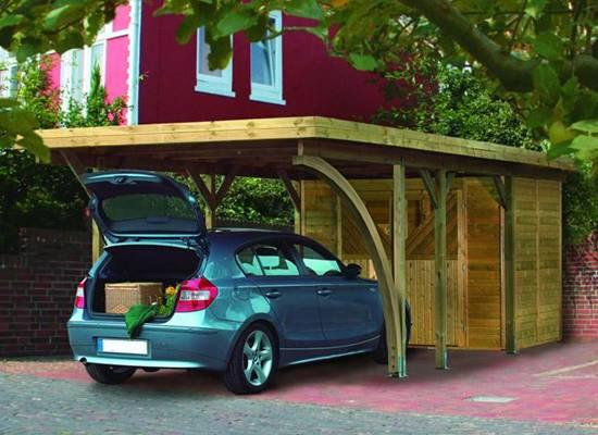 Carport carports enkelcarport enkele carport for Garage auto fresnes