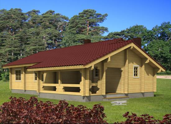 Chalets hout chalet chalet bouwen finse woning houten woningen chalet britta - Chalet hout ...