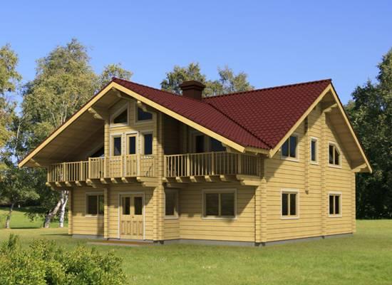 Chalets hout chalet chalet bouwen finse woning houten woningen chalet catherine - Chalet hout ...