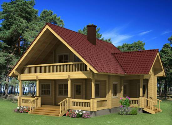 Chalets hout chalet chalet bouwen finse woning houten woningen chalet elisa - Chalet hout ...