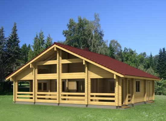 Chalets hout chalet chalet bouwen finse woning houten woningen chalet esther - Chalet hout ...