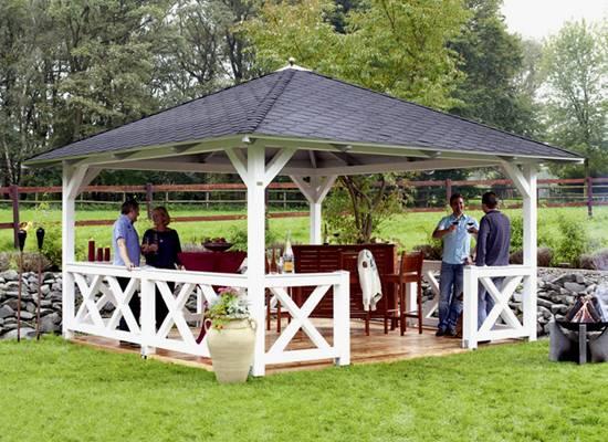 Prieel prieeltjes houten prieel pri len prieel cannes for Abri de jardin octogonal
