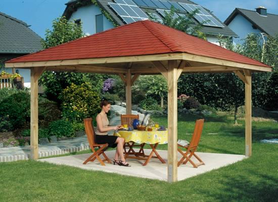 Tuinpaviljoen tuinpaviljoens paviljoen houten for Houten tuinkast intratuin